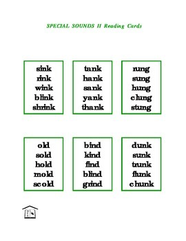 Special Sounds 2 Phonics Reading Cards