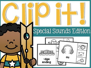 Special Sounds Clip It Cards