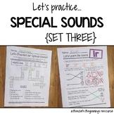 Special Sounds Worksheets {Set 3}