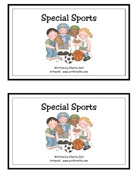 Special Sports Guided Reader for Sp blend