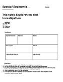 Triangle Segments - Median, Altitude, Mid-segments, Bisectors