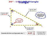 Special Triangles (30-60-90 and 45-45-90) Solution Summary