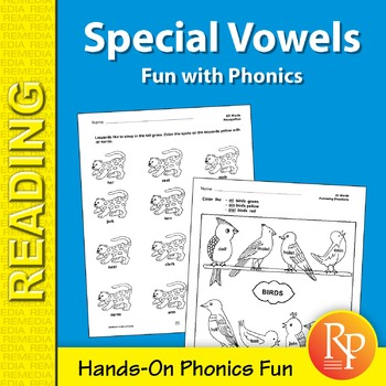 Special Vowels: Fun with Phonics Games & Hands-On Activities