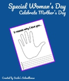 Special Woman's Day Writing   Mother's Day Writing