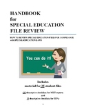 Special-education File Review Handbook