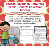 Special Education Resources for the General Education Teacher