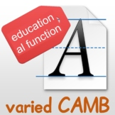 Special font for EDU, textbook writing method, 1 click wor