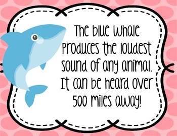 """""""Special"""" of the Day-Fun Facts for Upper Elementary"""