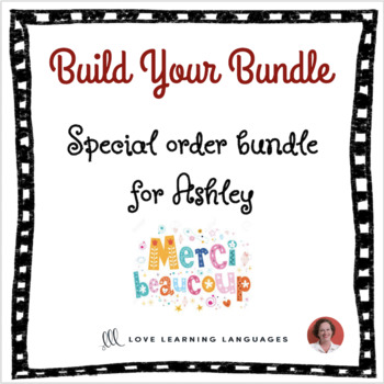 Special order bundle for Ashley