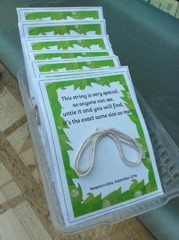 Special string poem sheet