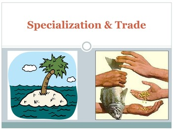 PPT - Specialization & Trade Using the PPF Model