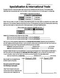 Specialization & Trade Worksheet
