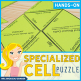 Specialized Cells Puzzle - Biology Puzzle