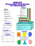 Specialized High Schools Admission Test (SHSAT) Formula Sheet