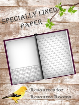 Specially Lined Paper