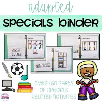 Specials Binder