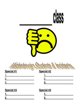 Specials Class Clipboard Behavior Sign