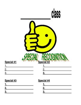Specials Class Clipboard Behavior Sign