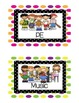 Specials Classes Posters-Free! Cute pictures with polka-do