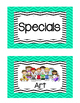 Specials Classes Posters- Free!