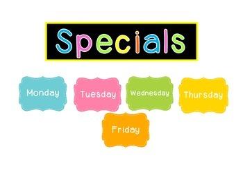Specials Clip
