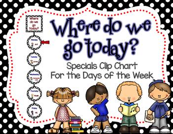Specials Clip Chart