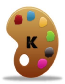 Specials: Kindergarten through 5th Grade Art Palette Printable Signs -- Color