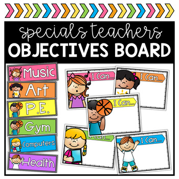 Specials Objectives Board