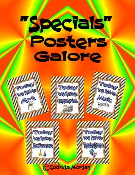 Specials Posters Galore