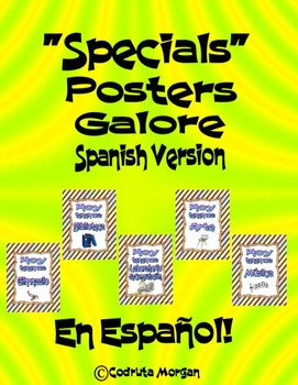 Specials Posters Galore – Spanish Version