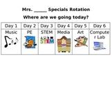 Specials Rotation Clip Chart