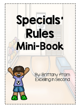 Specials' Rules Mini-Book