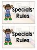 Specials' Rules Mini-Book