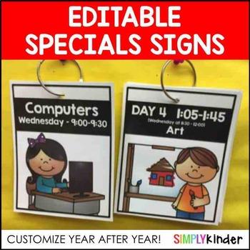 Specials Signs