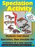 Speciation Activity