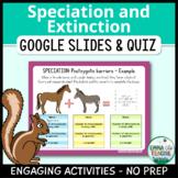 Speciation and Extinction Digital INB Activities and Quiz