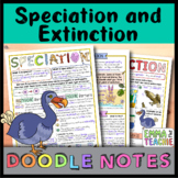 Speciation and Extinction Doodle Notes