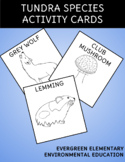 Species of the Tundra Food Web Activity Cards