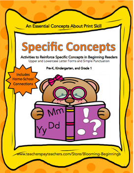 Specific Concepts: Essential Concepts About Print Skills