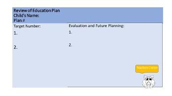 Educational Target Planner