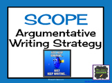 Specific Evidence in Argument Writing: SCOPE