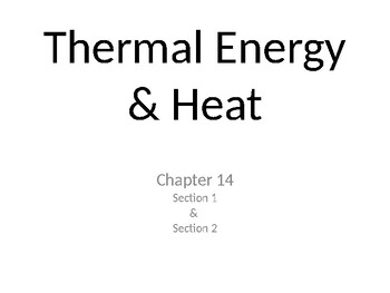 Specific Heat Capacity Worksheets & Teaching Resources | TpT