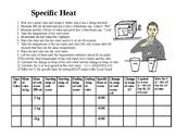 Specific Heat Lab
