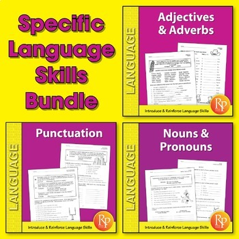 Specific Language Skills {Bundle}