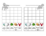 Specific Praise Behavior Chart (Sea life themed!)