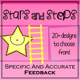 """Giving Specific Feedback with """"Stars and Steps"""""""