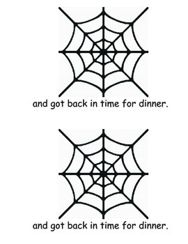 Speckled Spider Kindergarten Book Project