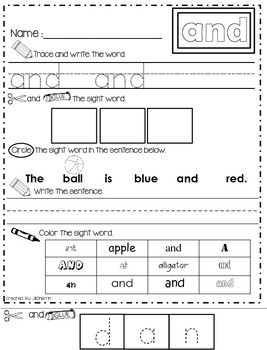 Spectacular SIPPS Sight Word Practice (Lessons 1-30)