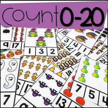 Spectacular Spooky Counting Pack 1-10