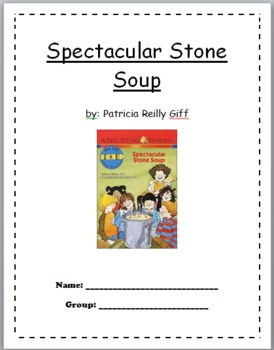 Spectacular Stone Soup Comprehension Packet